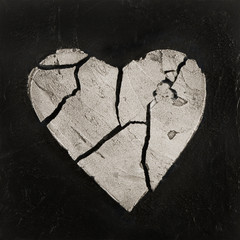 Malerei mit Herz