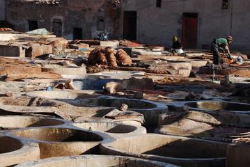 Tannerie, Marrakech