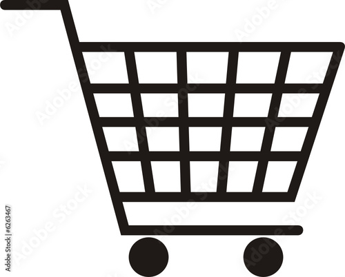 Shopping Cart Coloring Page