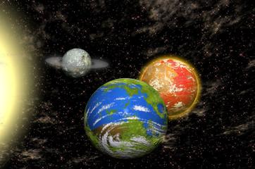 Planetas junto a una Estrella