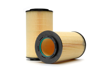 Brand new automotive oil filter cartridge