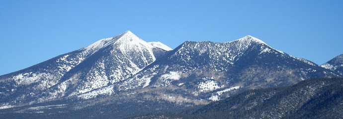 Arizona's San Francisco Peaks in Winter