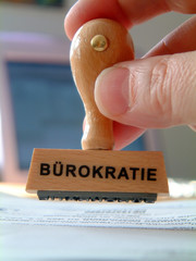Stempel Bürokratie