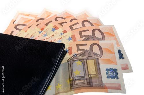envío directo garantía de alta calidad elegante y elegante Cartera con billetes de 50 euros