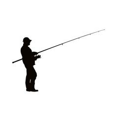 pêcheur a la ligne
