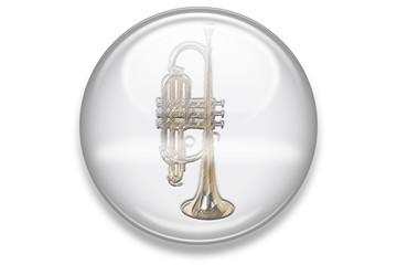 Musikbuttons Aqua: Trompete