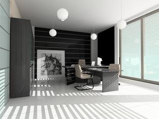 Modern interior of office premise