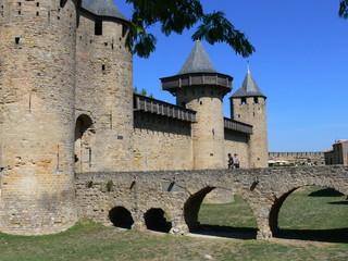 Entrée de Carcassonne médiéval
