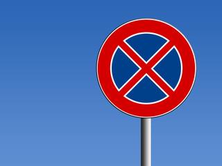 Segnale divieto di fermata