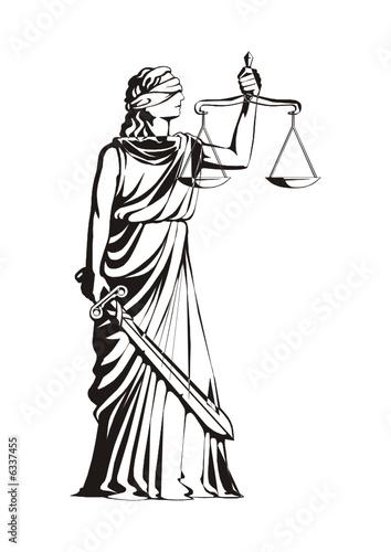 quotdama de la justiciaquot stock image and royaltyfree vector