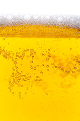 Close-up of beer