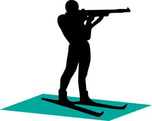 Biathlonist - 1. Silhouette