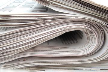 folded news