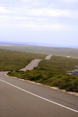 road on Kangaroo Island/South Australia