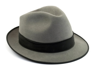 hat studio isolated over white