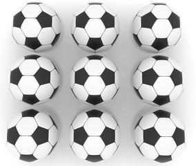series soccer ball 3d image