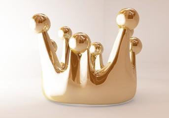 glänzende Krone