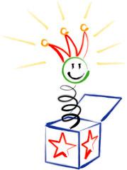Jack in a box cartoon