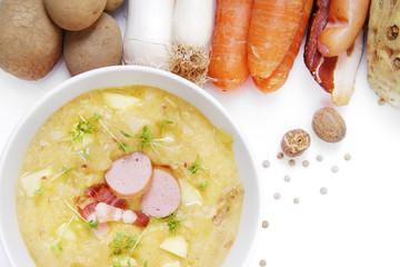 Kartoffelsuppe frisch zubereitet