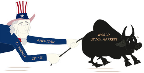 American economic crisis and the World Stock Markets