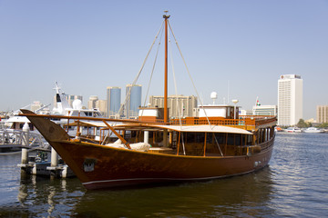 Arabic traditional boat