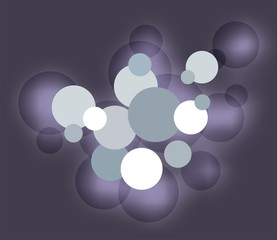 vector circles for background
