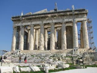 Akropolis im Bau