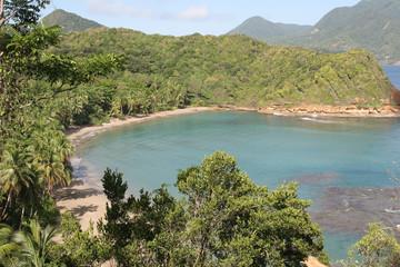 Batibou beach, Dominica, Caribbean