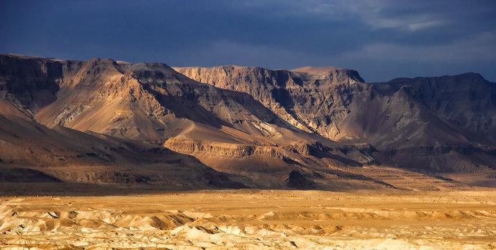 Wilderness of Judea from Israel