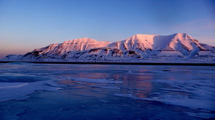 Door stickers Pole Longyearbyen 78°