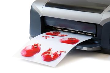le immagine stampate
