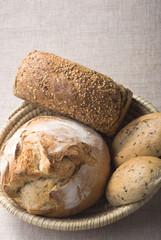 Deurstickers Bakkerij breads