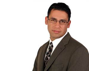 Hispanic business man