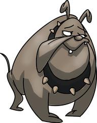 Cartoon British Bulldog