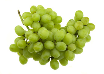 Bunch of White Seedless Grapes