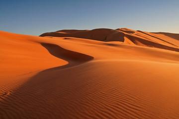 Desert in Hasi Labied, Moroco, Africa
