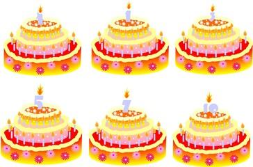 Cakes for bithday