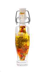 Decorative bottle with spices
