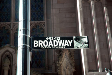Broadway, canyon of heroes, New York