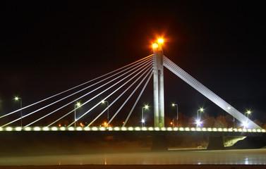 Jatkankynttila bridge in Rovaniemi, Lapland, Finland