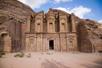 Monastery in Petra Jordan