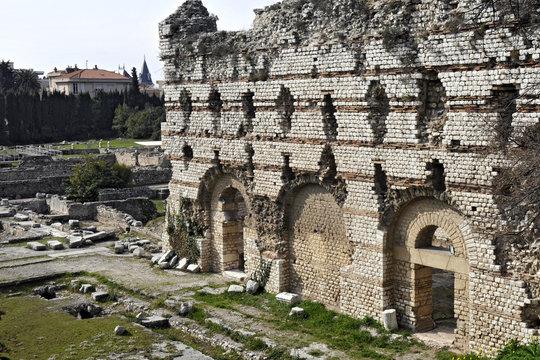 Ruines romaines, Nice