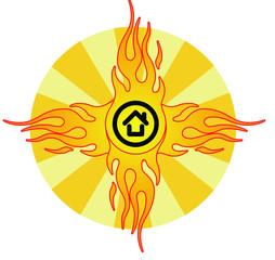 House music sun