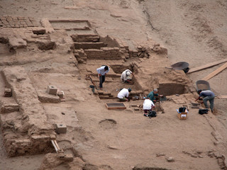 Perù - Scavi archeologici