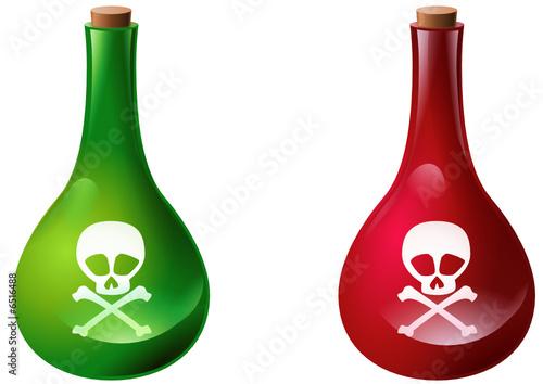 Fioles de poison fichier vectoriel libre de droits sur for Acheter poison