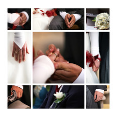 photo mariage montage