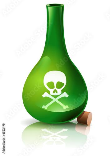 Fiole de poison verte ouverte fichier vectoriel libre de for Acheter poison