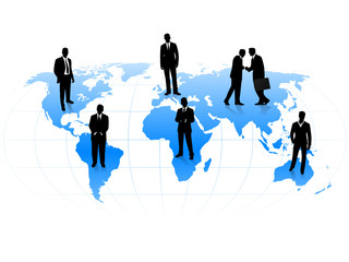 Businessma in the world