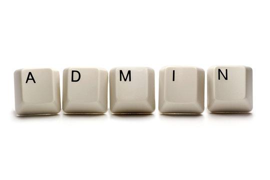admin / administrator - computer keys