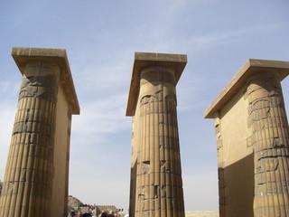 Egypte- colonnes Sakkarah